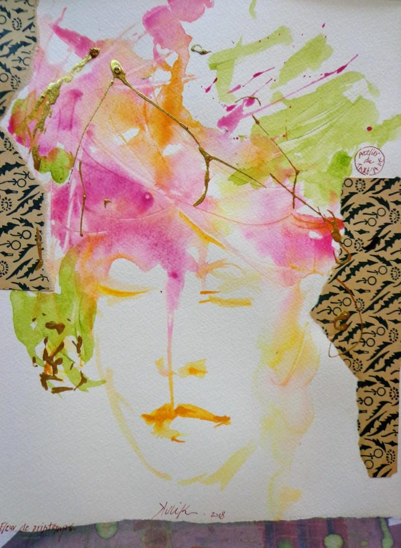 Georges Kulik - fleur de printemps