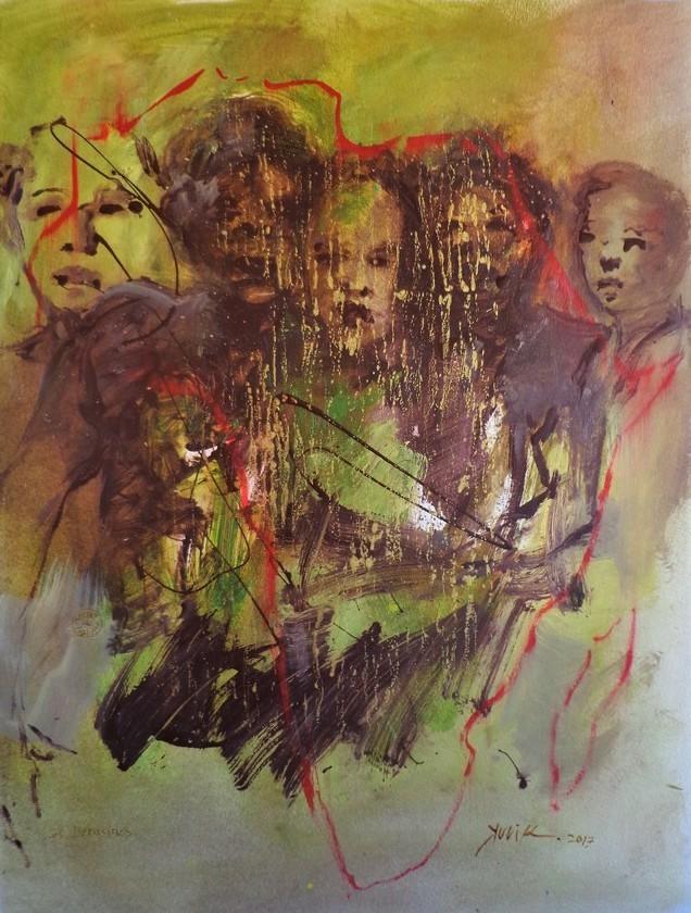 Georges Kulik - peuples d'ombre